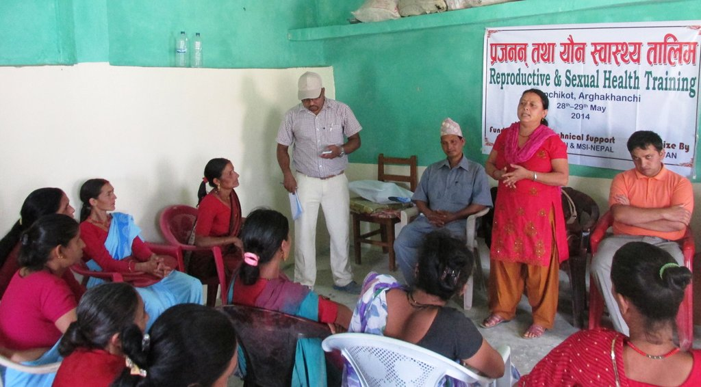 Women Learning in Arghakhanchi
