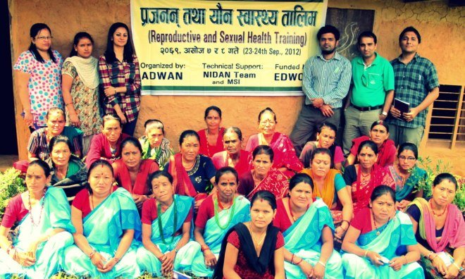 2012 Reproductive Health Workshop Participants