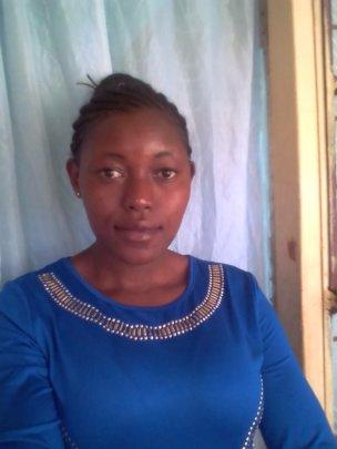 Beatrice, studying maritime management in Kenya