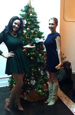 Devon, with Jessica, our Outreach Coordinator