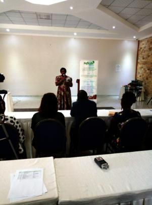 Guest Speaker at NDASHOBOYE graduation