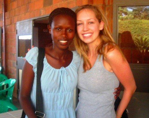 Safi and Devon in 2007