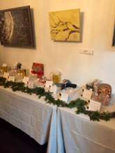 Our raffle table