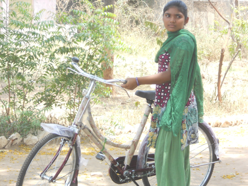Bicycles, Girls and their Parents.