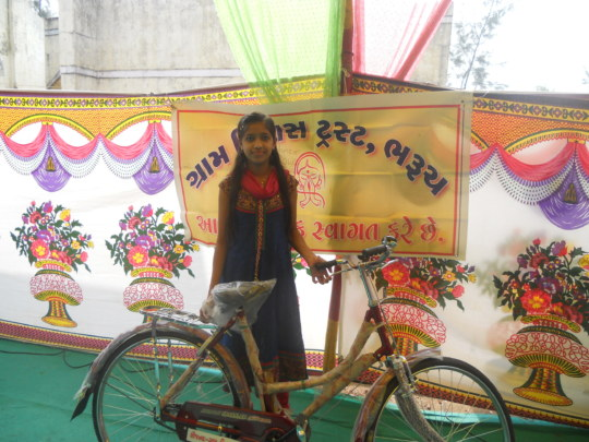 Give A Girl A Bicycle - Help Her To Go School