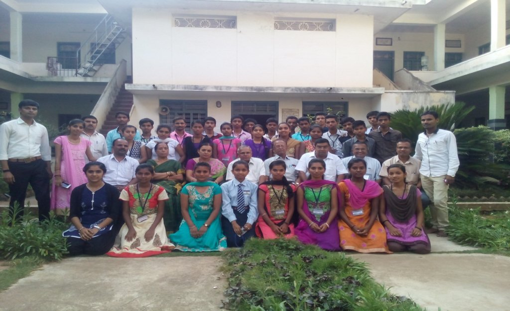 Vidya Poshak Students in a training program