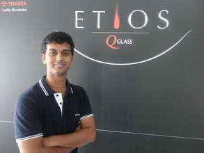 Mallikarjun Kumbri, VP Scholar, Working in Toyota