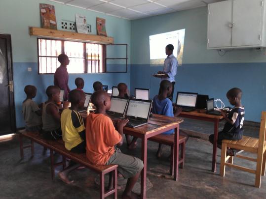 IT Class in Kigali