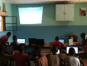 IT Class in Rwanda