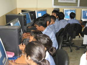 School is equiped with latest computers & Internet