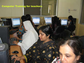 Computer Training for teachers