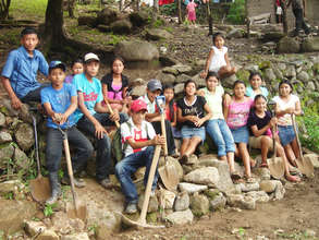 Students on a Community Cleanup Campaign
