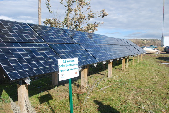 Solar PV demo site