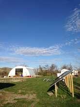 Sacred Earth Lodge - powered by solar energy!