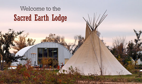 Help Build the Sacred Earth Lodge
