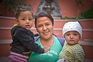 Imelda, Casa de los Angeles Mom - Rosita & Asiul