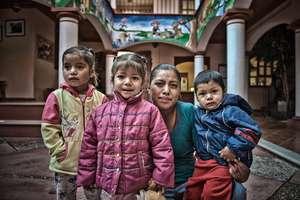Maribel y sus hijos
