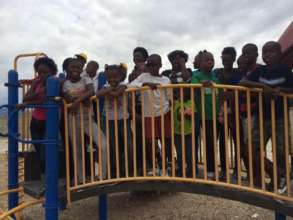 The kids enjoying a trip to Mache Mirak