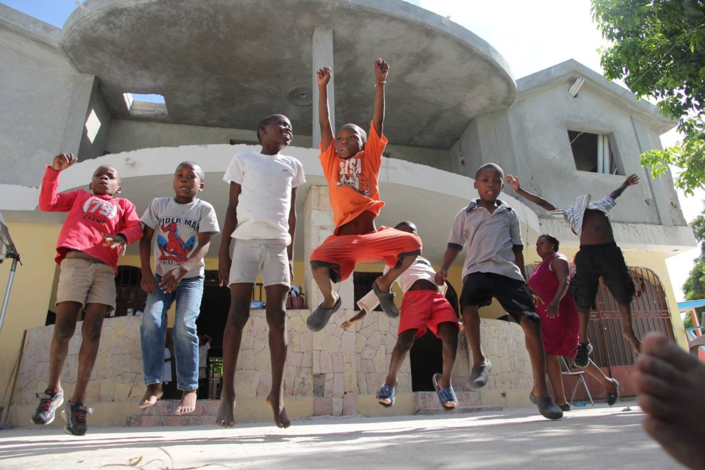 The kids are Jumping for Joy at your support