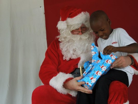 Santa is coming to the orphanage