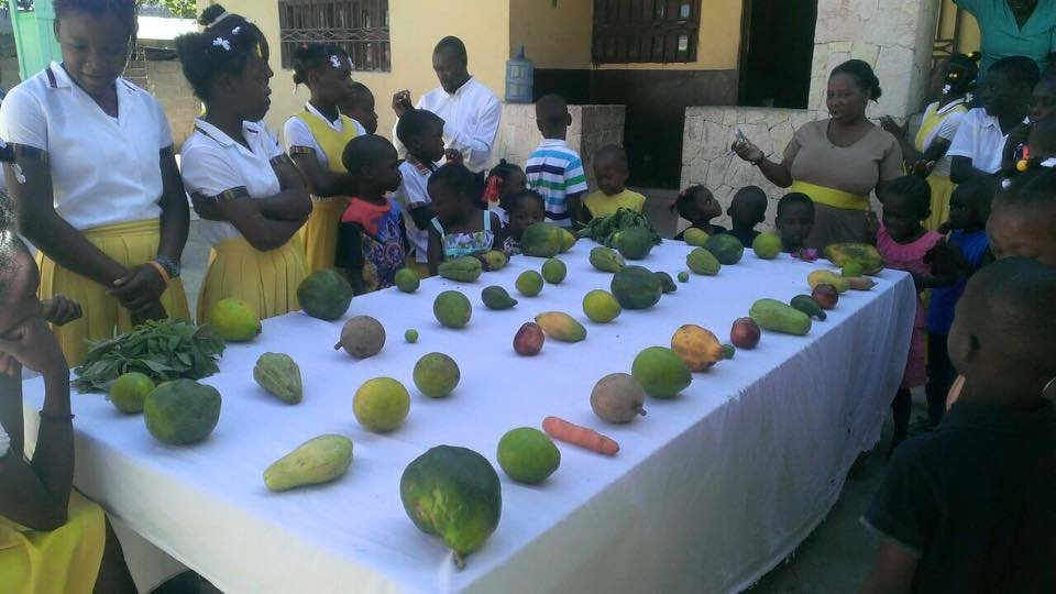 The kids also learned about local agriculture