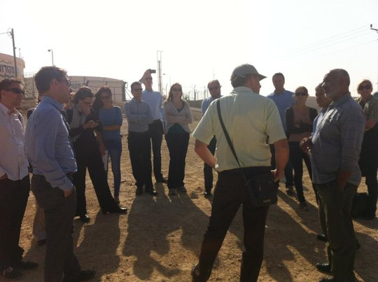 Diplomats partake in field visit to the Naqab