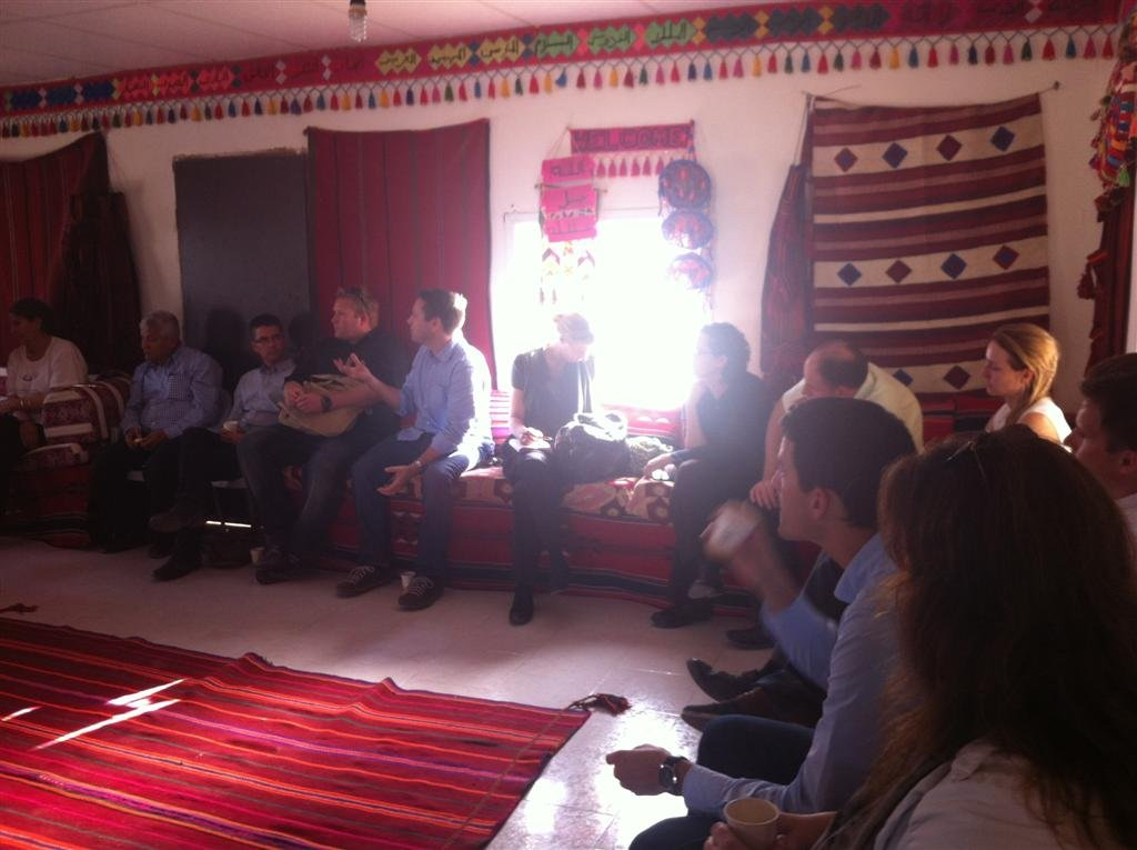 Guests discuss concerns of Bedouin citizens