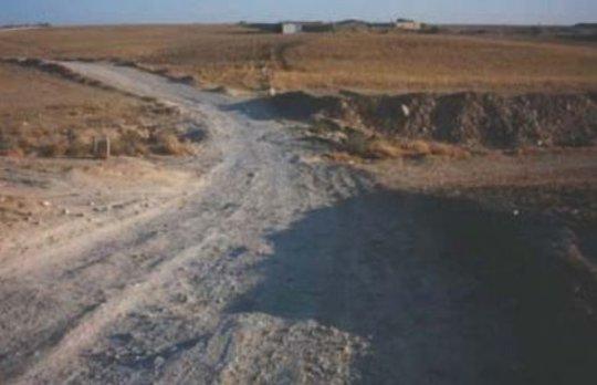 Al-Fur'a road before Adalah's legal intervention