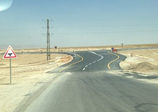 Al-Fur'a road after Adalah's legal intervention