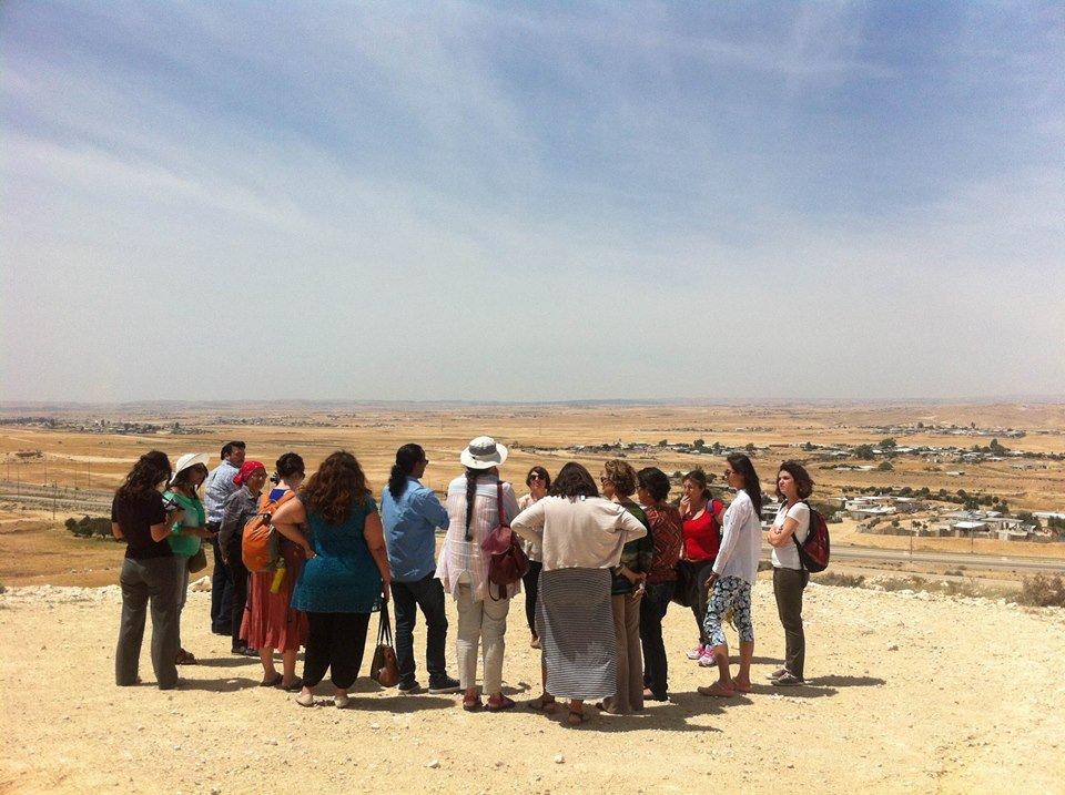 Latin American diplomats examine Naqab landscape