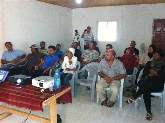 15 activists took the human rights workshop