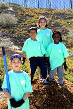 Volunteers of all ages contributed to Arbor Day