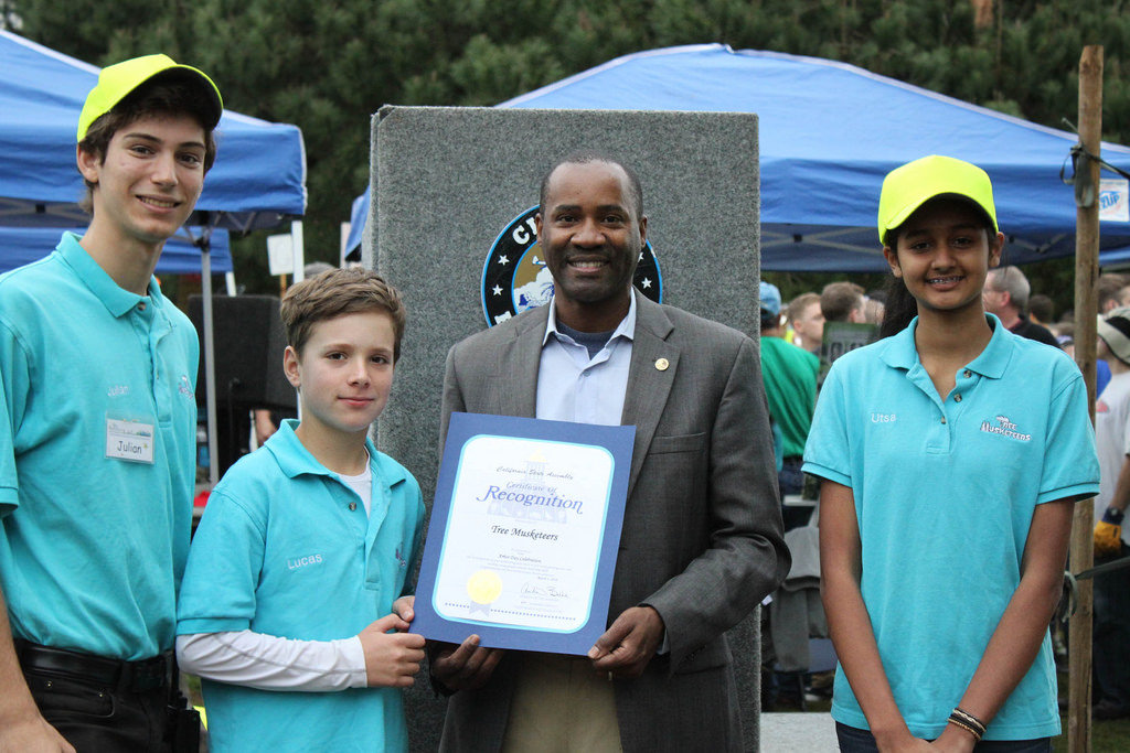 Youth Managers recognized by CA Assembly Member!