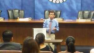 Holden Orias delivers his winning speech!