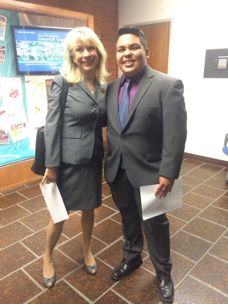 Youth Manager Fernando now Alcoa Scholar
