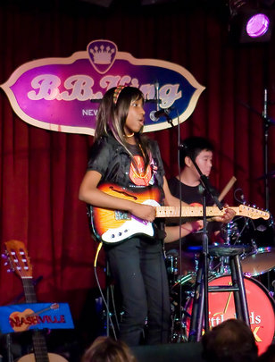 Jade at BB King