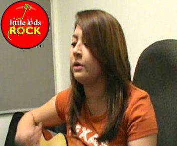 "Nancy Robles performs her song, ""Lies You Told Me"""