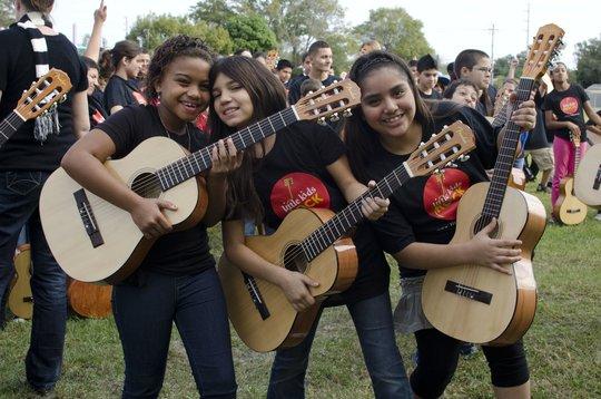 Little Kids Rock students!