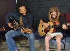 Ziggy Marley with Little Kids Rock Student