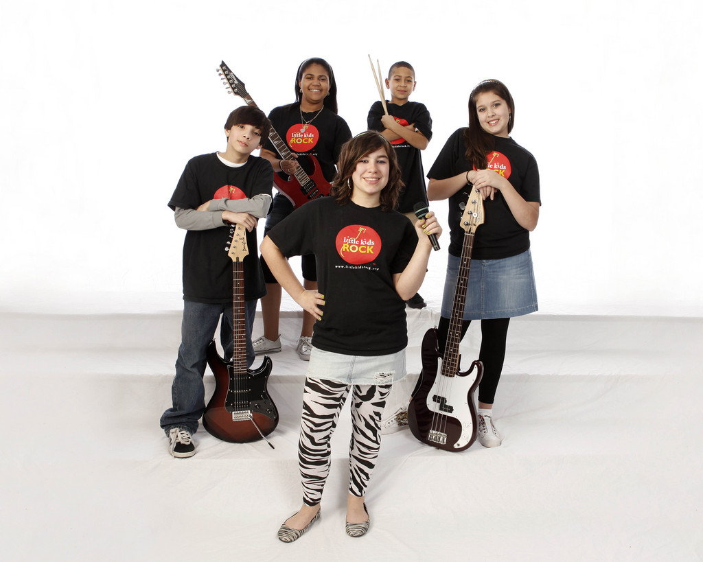 Flashback Little Kids Rock Band