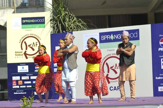Thank you for your wonderful dance! At KAF festiva