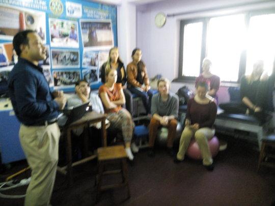 International volunteer interaction presetation