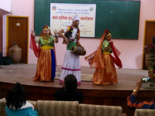 Dance performance at UNCRC day program