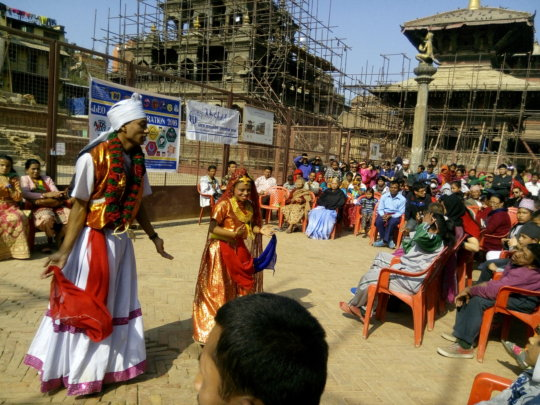 Dance performance on the occasion of  day