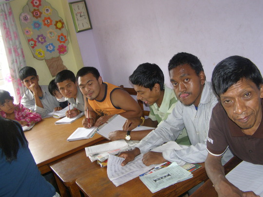 Classroom activity: study time