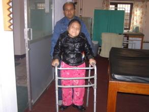 Crutch exercise