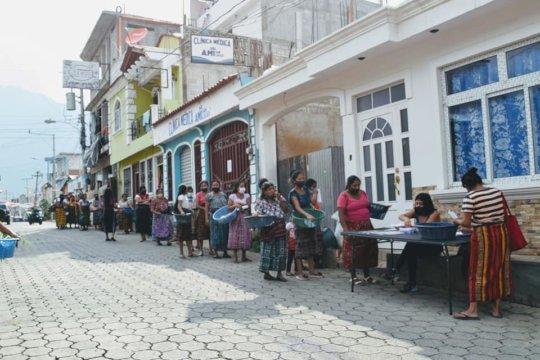 food distribution San Pedro
