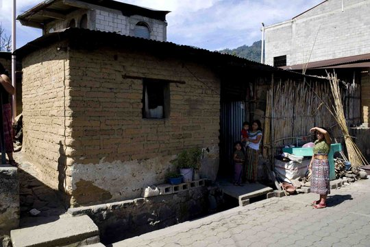House that the volunteers came to replace