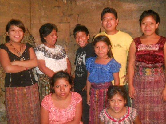 happy recipient family