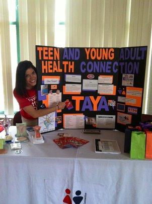 TAYA at a Health Fair